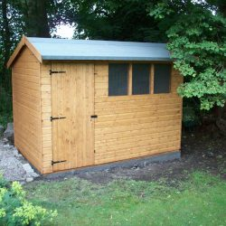 Heavy-duty-shed